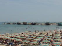 Di Milan Marittima de Spiaggia Images libres de droits