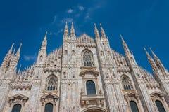 Di Milano, catedral del Duomo de Milano, Italia foto de archivo libre de regalías