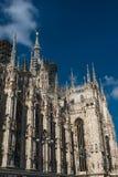 Di Milano, catedral del Duomo de Milano, Italia fotos de archivo