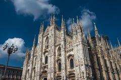 Di Milano, catedral del Duomo de Milano, Italia fotos de archivo libres de regalías