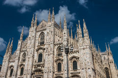 Di Milano, catedral del Duomo de Milano, Italia fotografía de archivo