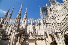 Di Milano del Duomo Imagen de archivo