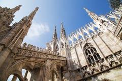 Di Milano del Duomo Imagenes de archivo
