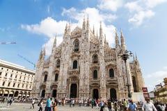 Di Milano del Duomo Fotografía de archivo libre de regalías
