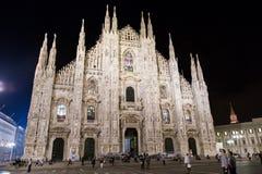 Di Milano del Duomo Imágenes de archivo libres de regalías
