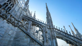 Di Milano del Duomo immagine stock libera da diritti