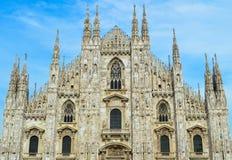 Di Milano del Duomo Fotografía de archivo
