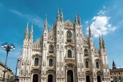 Di Milano del Duomo en Milán, Italia foto de archivo libre de regalías