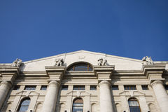 Di Milano di Borsa Immagine Stock Libera da Diritti