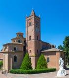 Di Monte Oliveto Maggiore de Abbazia Imagen de archivo libre de regalías