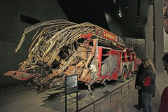 9/11 di museo commemorativo, ground zero, WTC Immagini Stock