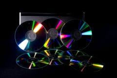 Di Music Box e del CD Fotografie Stock