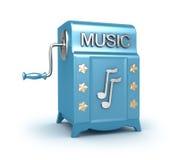 Di Music Box - retro giocatore Immagine Stock Libera da Diritti