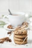 Di natale vita ancora con i biscotti Immagini Stock Libere da Diritti