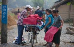 Di Nepalese vita leisurely Fotografie Stock Libere da Diritti