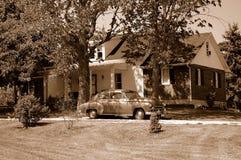 Di nuovo agli anni 40 Fotografia Stock