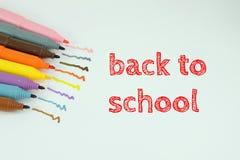 Di nuovo alla scuola - ¼ ÅŸ del dönà di Okula Fotografie Stock Libere da Diritti