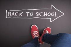 Di nuovo alla scuola Fotografia Stock Libera da Diritti
