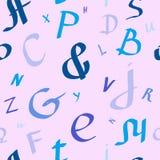 Di nuovo alla scuola, alfabeto royalty illustrazione gratis