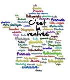 Di nuovo alla scuola in Francia fotografia stock