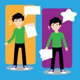 Di nuovo alla scuola: Grado royalty illustrazione gratis