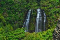 ` Di Opaeka cadute, Kauai, HI Fotografia Stock Libera da Diritti