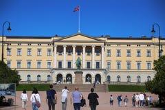 """€ di OSLO, NORVEGIA """"17 agosto 2016: Visita turistica Royal Palace Fotografie Stock"""