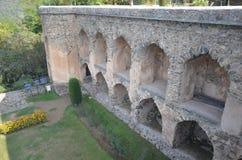 ` Di Pari Mahal del ` in Kashmir Valley fotografia stock libera da diritti