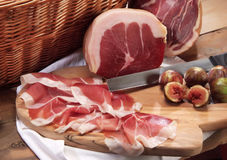 Di Parma de Culatello Foto de Stock Royalty Free