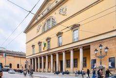 Di Parma de Teatro REGIO do teatro da ópera Imagens de Stock Royalty Free
