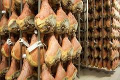 Di Parma del prosciutto del jamón Fotos de archivo libres de regalías