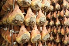Di Parma del prosciutto del jamón Fotografía de archivo