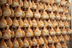 Di Parma del prosciutto del jamón Imágenes de archivo libres de regalías