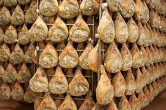 Di Parma del prosciutto del jamón Fotografía de archivo libre de regalías