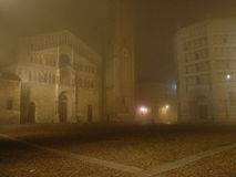 Di Parma van Duomo Stock Foto