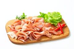 Di Parma van Prosciutto Stock Foto's