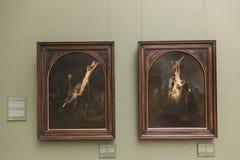 ` Di passione del ` di Rembrandt al Alte Pinakothek - Monaco di Baviera Immagini Stock Libere da Diritti