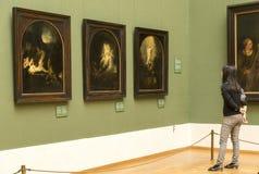 ` Di passione del ` di Rembrandt al Alte Pinakothek - Monaco di Baviera Fotografia Stock