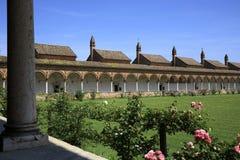 Di Pavía de Certosa imágenes de archivo libres de regalías