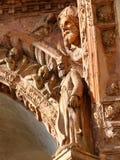 Di Pavía, decoraciones de Certosa Fotografía de archivo