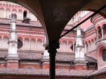 Di Pavía, Italia de Certosa Imagen de archivo libre de regalías