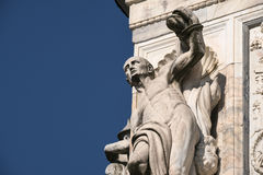Di Pavía Italia, iglesia histórica de Certosa Foto de archivo libre de regalías