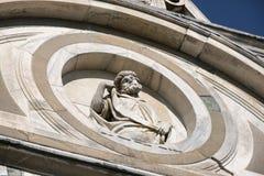 Di Pavía Italia, iglesia histórica de Certosa Imágenes de archivo libres de regalías