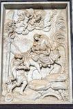 Di Pavie Italie, église historique de Certosa Photographie stock libre de droits