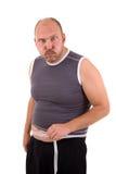 Di peso eccessivo e non attraente fotografie stock