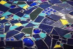 di pezzi colorati Multi di mattonelle Immagini Stock