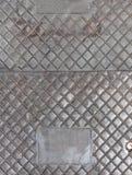 Di piastra metallica Fotografia Stock Libera da Diritti