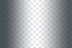 Di piastra metallica Fotografie Stock