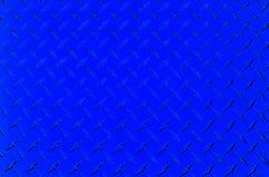 Di piastra metallica blu Fotografie Stock Libere da Diritti