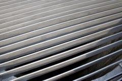 Di piastra metallica con bulloni, testo Fotografie Stock